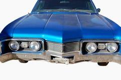 голубая классика автомобиля Стоковое Фото