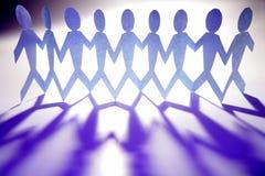 голубая команда Стоковое Изображение RF
