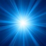 Голубая конструкция цвета с взрывом. EPS 8 Стоковая Фотография
