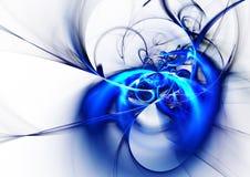 голубая конструкция Стоковая Фотография RF