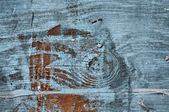 голубая краска Стоковая Фотография RF