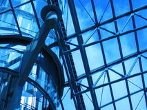 голубая крыша стоковое изображение