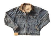 Голубая куртка джинсовой ткани Стоковая Фотография