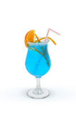 голубая лагуна Стоковая Фотография RF