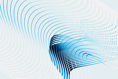голубая линия 3d Стоковое Изображение RF