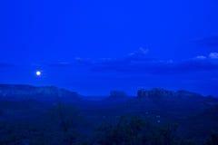 голубая луна раз Стоковое Изображение RF