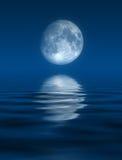 голубая луна Стоковое Изображение