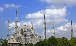 Голубая мечеть в Стамбул, Турции Стоковое Изображение RF