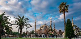 Голубая мечеть историческая мечеть в Стамбуле, Турции стоковая фотография rf