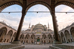 Голубая мечеть, Стамбул, Турция. Стоковое Фото