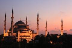 голубая мечеть Стоковая Фотография