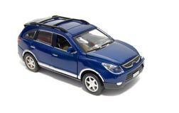 голубая модель автомобиля Стоковое фото RF