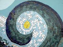 голубая мозаика Стоковые Фото