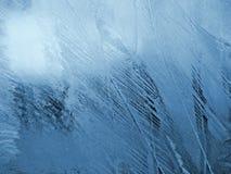 Голубая морозная естественная картина Стоковая Фотография RF