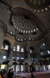 голубая нутряная мечеть Стоковая Фотография RF