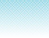 голубая орнаментальная картина иллюстрация вектора