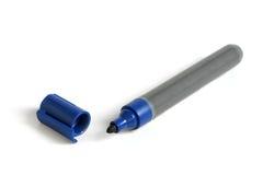 голубая отметка Стоковое Изображение RF