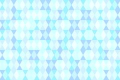Голубая пастельная геометрическая абстрактная предпосылка Стоковая Фотография RF