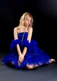голубая перла Стоковые Изображения