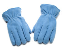 голубая перчатка Стоковые Изображения RF
