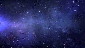 Голубая петля предпосылки цветового пространства иллюстрация штока
