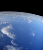 голубая планета Стоковое Изображение RF