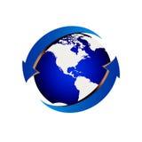 голубая планета Стоковые Изображения