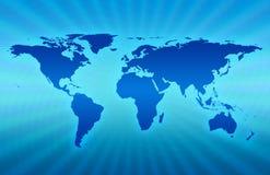 голубая планета Стоковое Фото