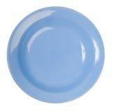 голубая плита фарфора Стоковое Изображение