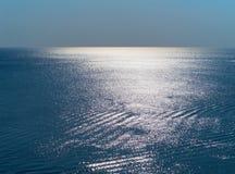 голубая поверхность моря Стоковое Изображение