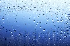 голубая поверхность падения Стоковые Изображения RF