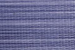 Голубая поверхность циновки соломы цвета Стоковое фото RF