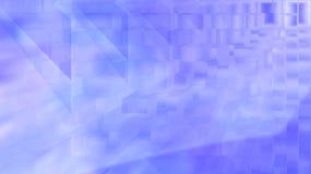 Голубая предпосылка акварели в тумане Стоковые Фотографии RF