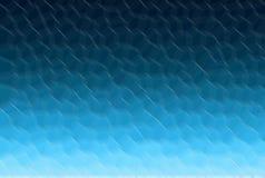 Голубая предпосылка градиента Картина текстуры надувательства нерезкости полигональная иллюстрация штока