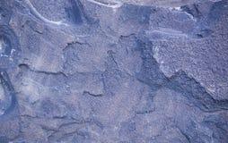 Голубая предпосылка гранита геологохимический, текстура Стоковые Фотографии RF