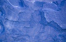 Голубая предпосылка гранита геологохимический, текстура Стоковая Фотография RF