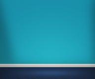 Голубая предпосылка комнаты Стоковые Изображения RF