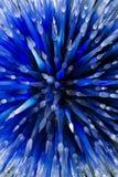 Голубая предпосылка конспекта выдувного стекла стоковое изображение rf