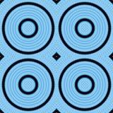 Голубая предпосылка конспекта калейдоскопа картины симметрия иллюстрация штока