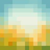 Голубая предпосылка мозаики Стоковая Фотография RF