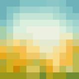 Голубая предпосылка мозаики иллюстрация штока