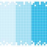 Голубая предпосылка мозаики Стоковые Изображения RF