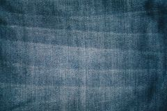 Голубая предпосылка текстуры демикотона Стоковая Фотография