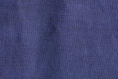 Голубая предпосылка ткани, конец вверх стоковое изображение rf
