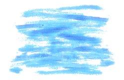 Голубая предпосылка ходов щетки как покрашено также вектор иллюстрации притяжки corel стоковые изображения
