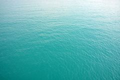 Голубая предпосылка цвета морской воды Стоковое Фото