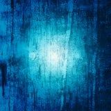 Голубая предпосылка grunge Стоковые Фотографии RF