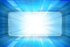 Голубая предпосылка Стоковая Фотография RF