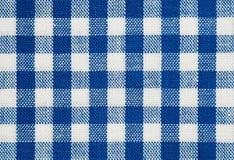 голубая проверка Стоковые Фото