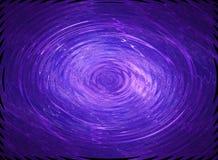 голубая пульсация Стоковая Фотография